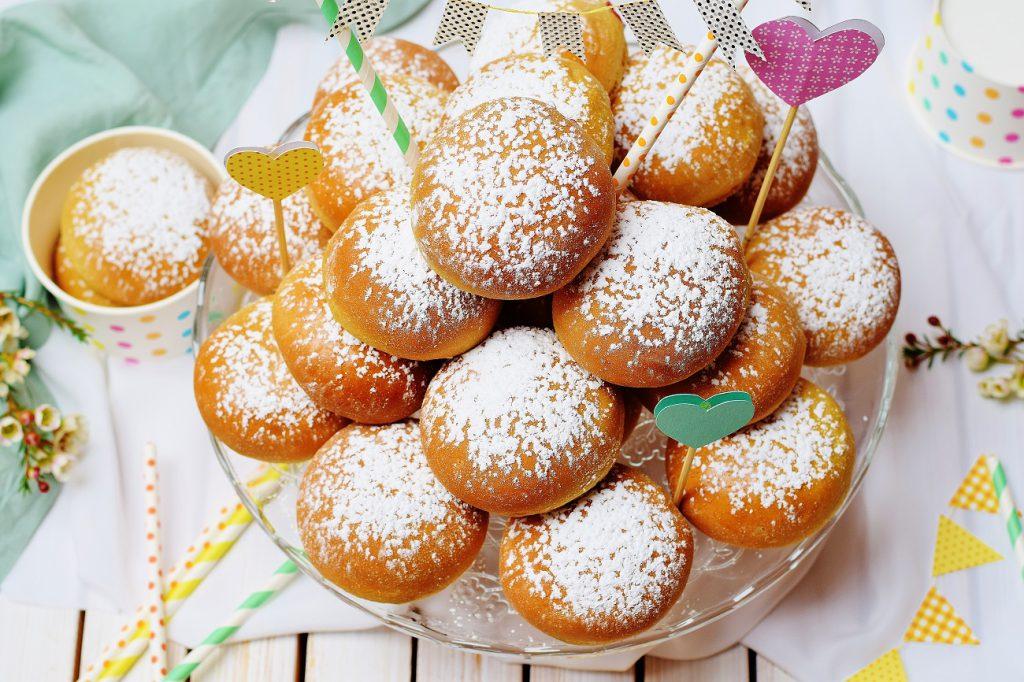 Gesunde Ofenkrapfen: fluffige Krapfen aus dem Backofen