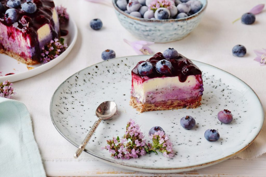 Heidelbeer-Cheesecake Rezept