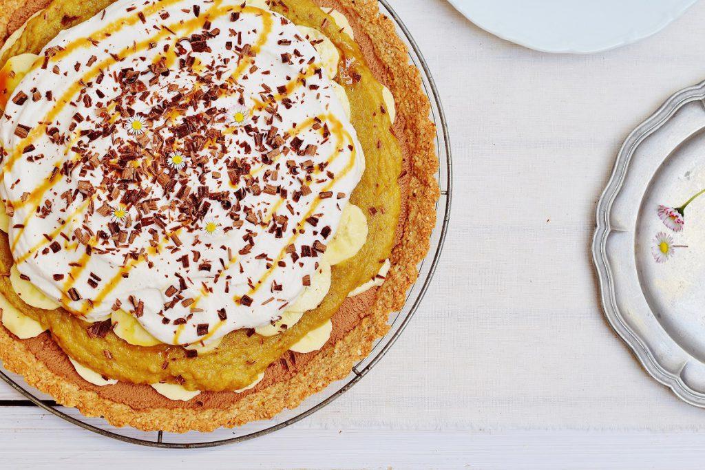 Banoffee Pie mit Schokomousse und Datteln