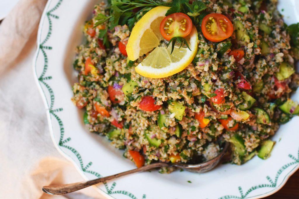 Tabouleh - Salat mit Bulgur