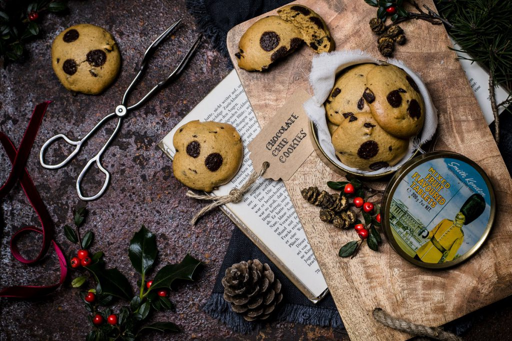 Gesunde Chocolate Chip Cookies ohne Butter