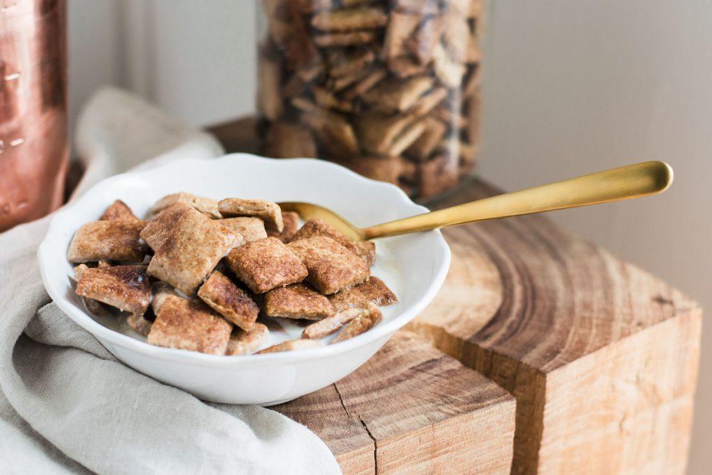 Frühstücksflocken ohne Zucker: Zimtkissen