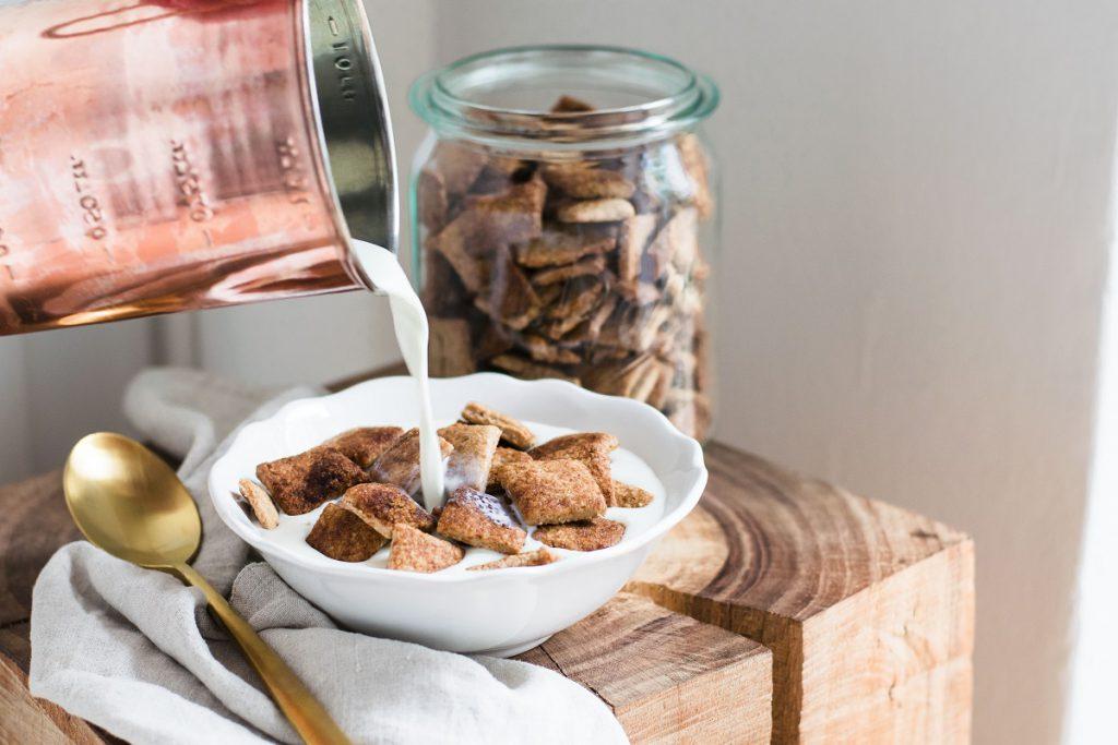 Gesunde Cornflakes mit Zimt selber machen: Zimtkissen
